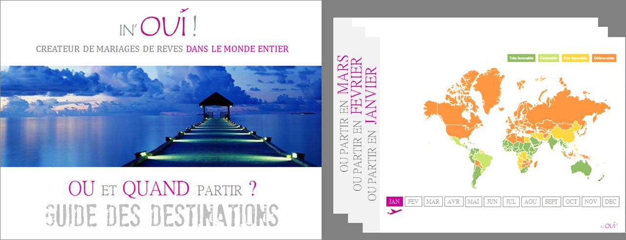 Guide des destinations Ou et Quand partir by IN'OUI